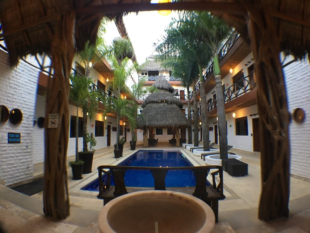 Charming hotel oasis
